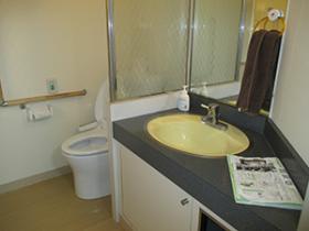 サービス付高齢者住宅洗面台